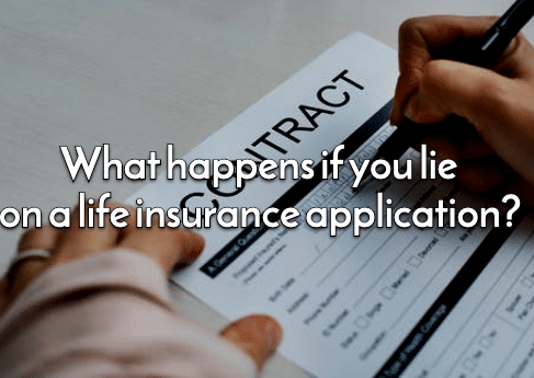 lie on life insurance application