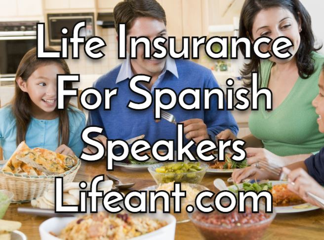 Spanish speakers talking about life insurance