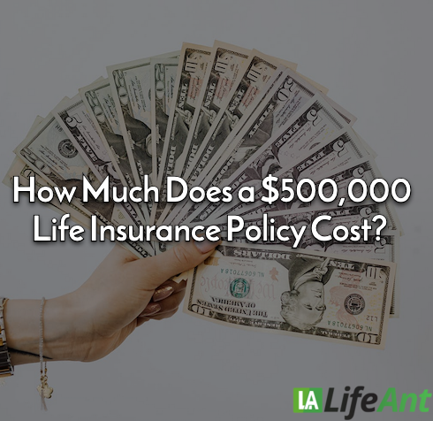 How Much Does a $500,000 Life Insurance Policy Cost?
